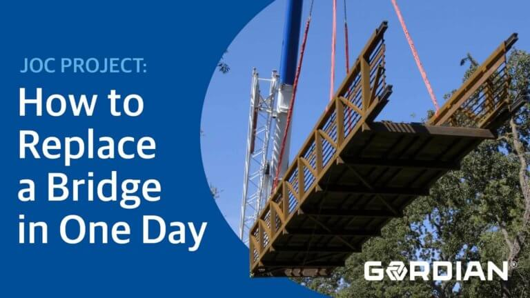 How to Replace a Bridge in One Day